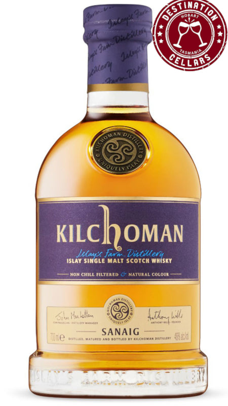 Kilchoman Sanaig Islay Single Malt 46% ABV