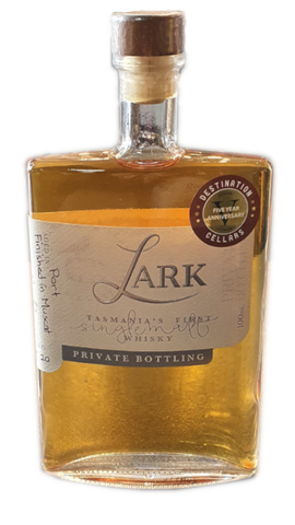 Lark DC 5th Anniversary Single Malt Whisky 100mL