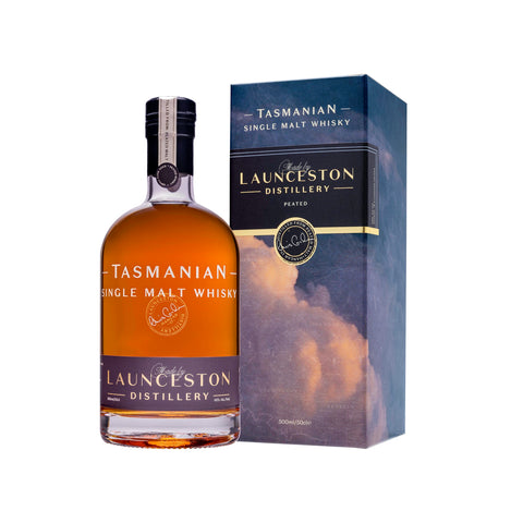 Launceston Distillery Peated 46% 500ml