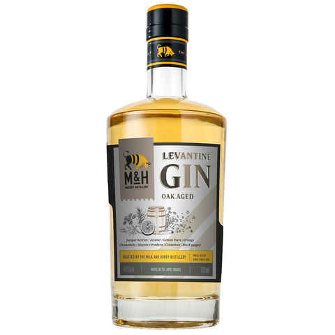Milk & Honey Levantine Israeli Oak Aged Gin 48% 700ml