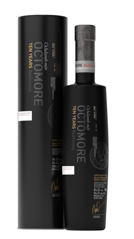 Octomore 11 10 Year Old Single Malt Whisky 54.3% 700ml