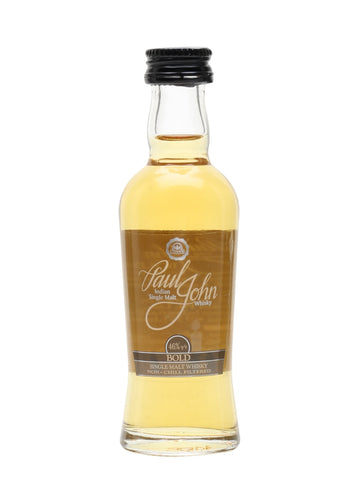 Paul John Bold Miniature 50ml Single Malt Whisky