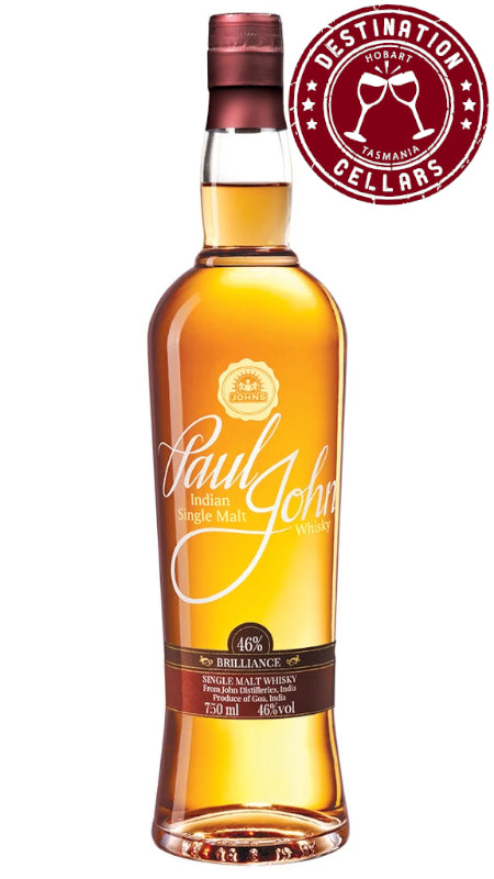Paul John Brilliance 46% Single Malt Whisky
