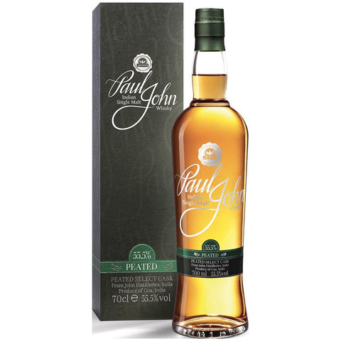 Paul John Peated Select Cask 55.5% Single Malt Whisky 700ml