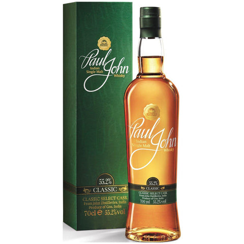Paul John: Classic Cask Strength 55.2% Single Malt Whisky 700ml