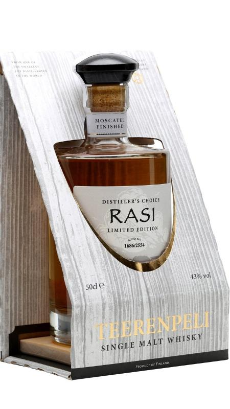 Teerenpeli Distiller´s Choice Rasi Single Malt Whisky