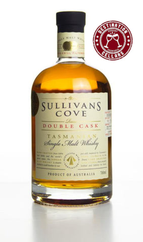 Sullivans Cove Destination Cellars 5 Year Anniversary Double Cask Collaboration Single Malt Whisky 700ml