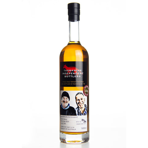 TIB RD0028 Oloroso Sherry Cask 50% 500ml DC Five Year Anniversary Whisky