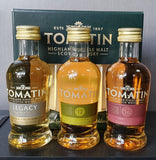 Tomatin Highland Whisky 3x50ml Box Set