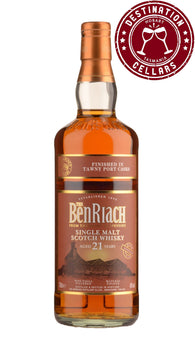 BenRiach 21YO Tawny Port Finish Single Malt Whisky