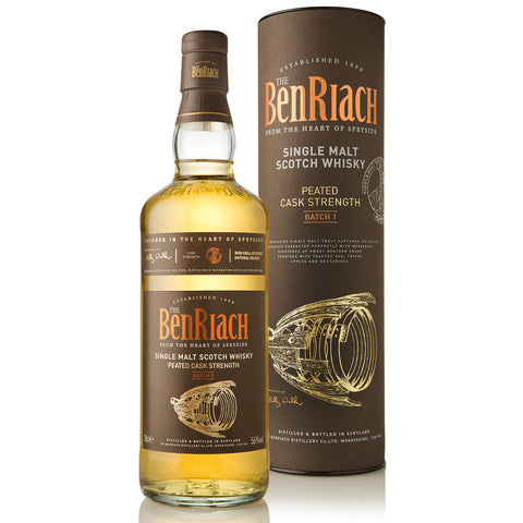 BenRiach Batch 1 Peated Cask Strength