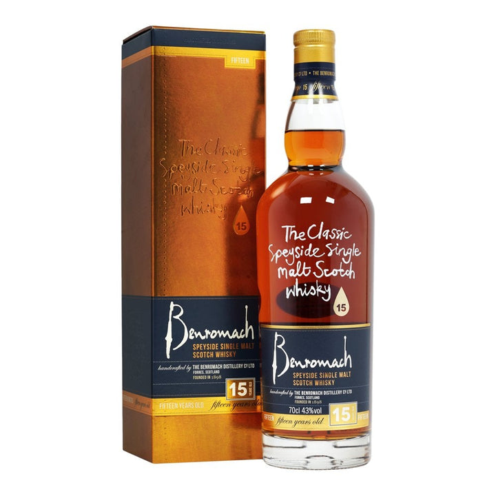 Benromach 15YO 43% Single Malt Whisky