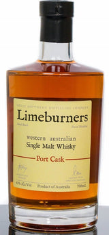 Limeburners Port Cask 43% Single Malt Whisky