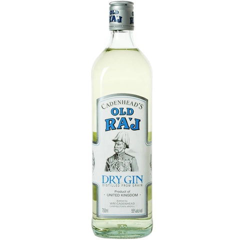 Old Raj 55% Dry Gin 700ml