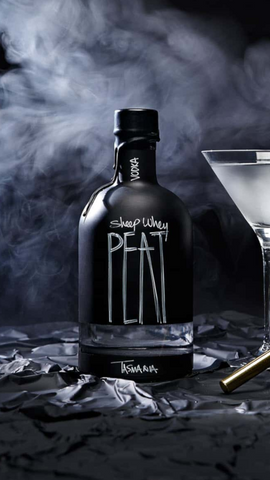 Hartshorn Sheep Whey Peat Smoked Vodka