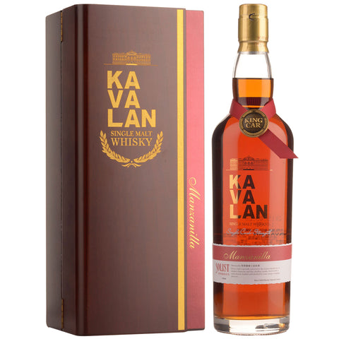 Kavalan Solist Premium - Manzanilla Single Cask 58.6% 750ml