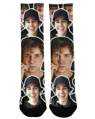 David Dobirk Custom Socks | All Over Shirts