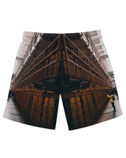 Alcatraz Cells Athletic Shorts
