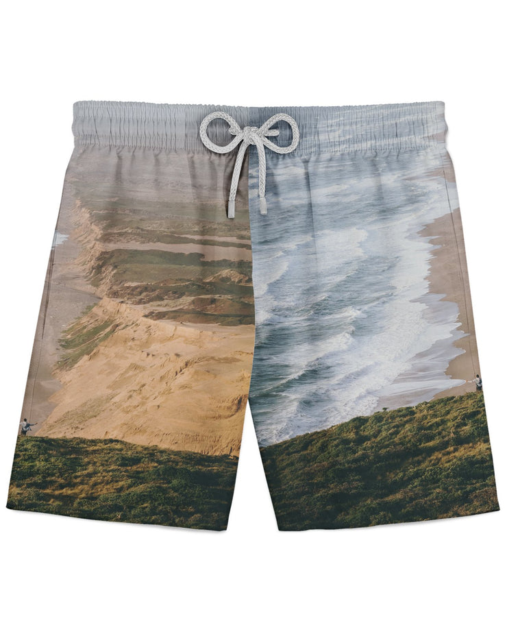 Point Reyes Seashore Dan printed all over in HD on premium fabric. Handmade in California.