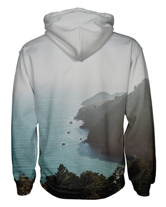 Bay Area Fog and Sun Pullover Hoodie
