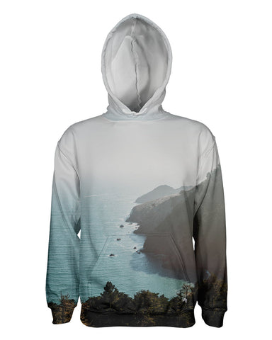 Bay Area Fog and Sun printed all over in HD on premium fabric. Handmade in California.