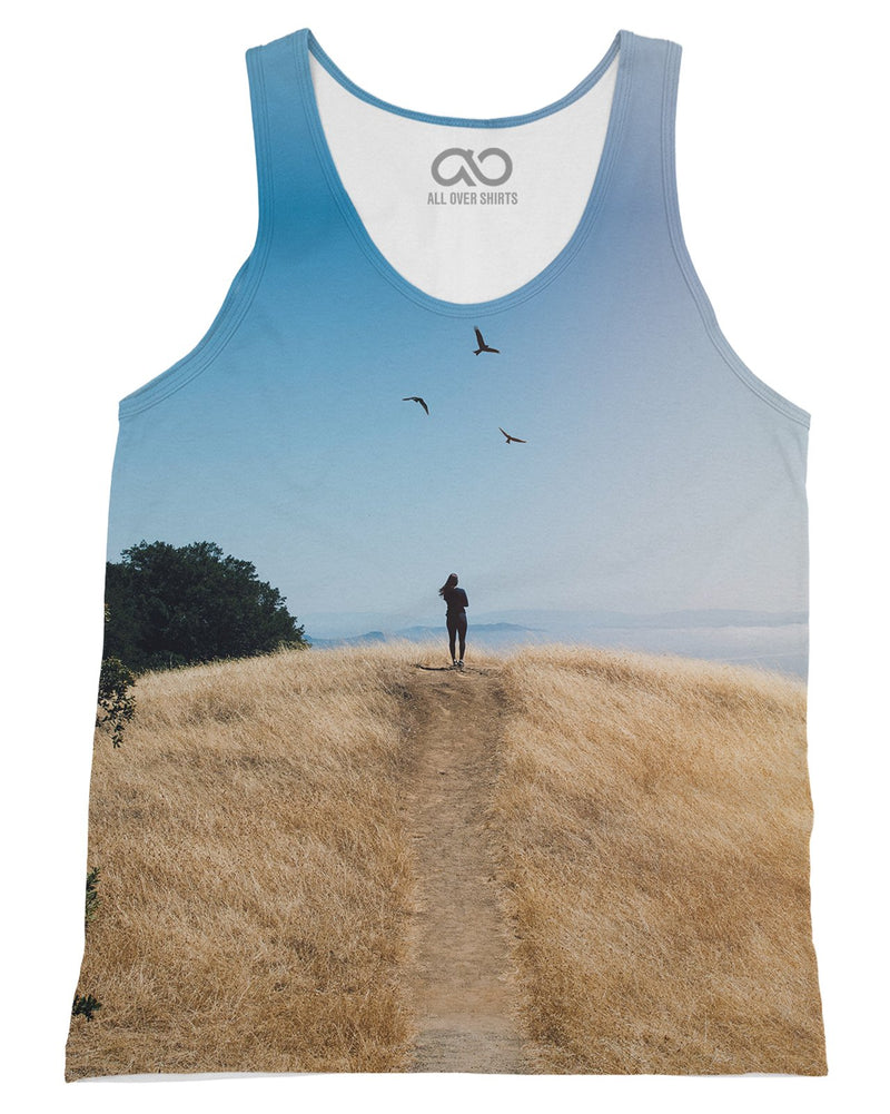 Brittany Birds Sun Tank-Top