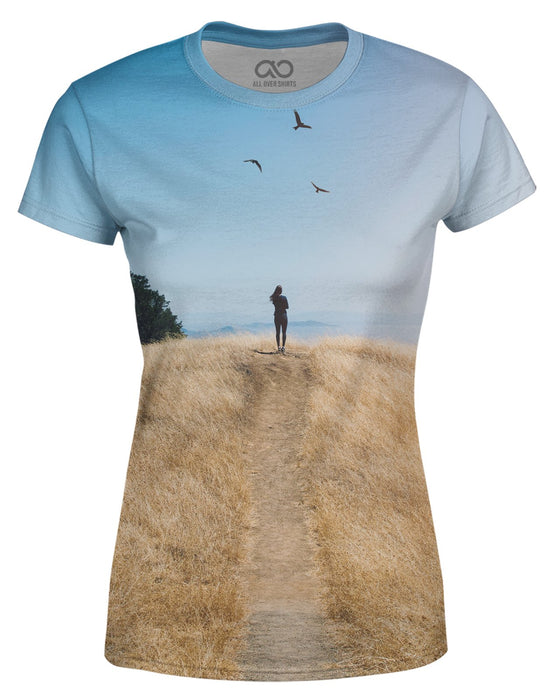 Brittany Birds Sun Women's T-shirt