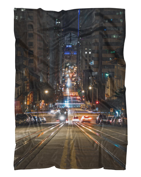 California Street printed all over in HD on premium fabric. Handmade in California.