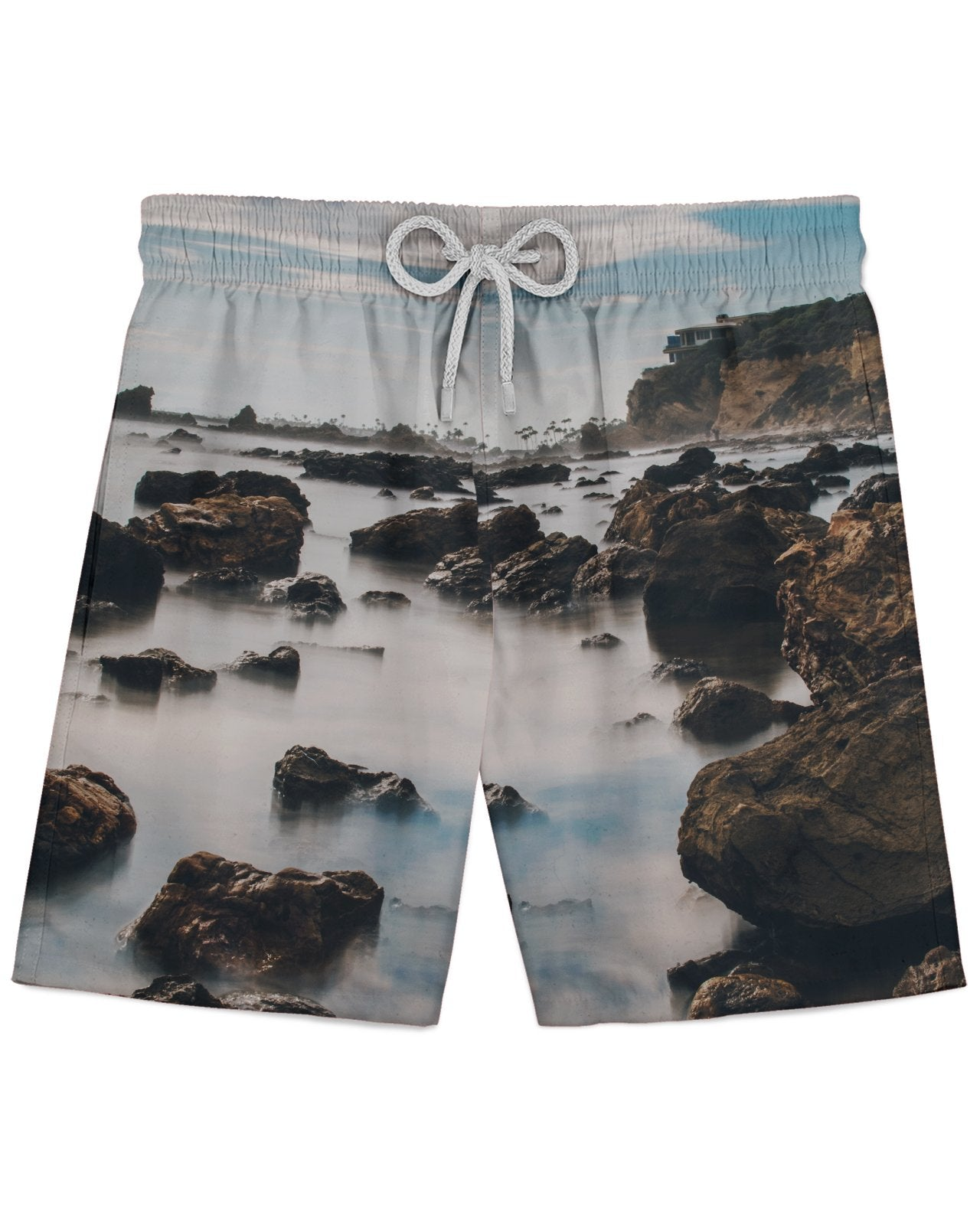Corona Del Mar Long Exposure Portrait 2 Athletic Shorts