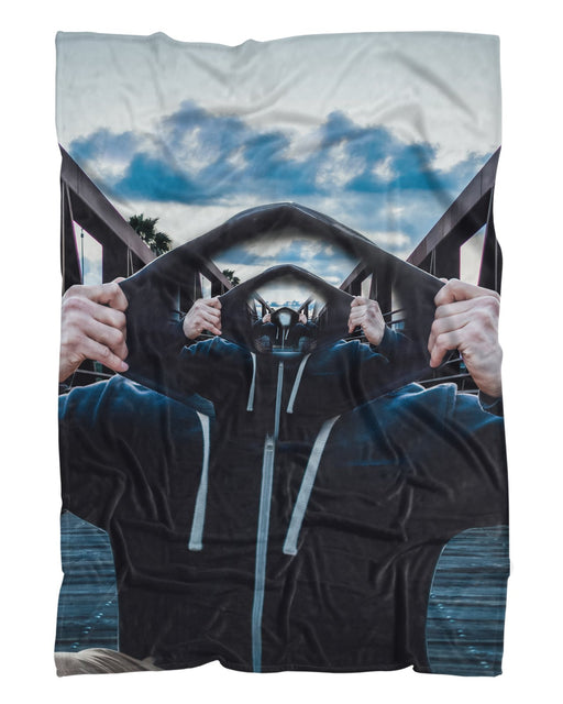 Inception Bridge Final printed all over in HD on premium fabric. Handmade in California.