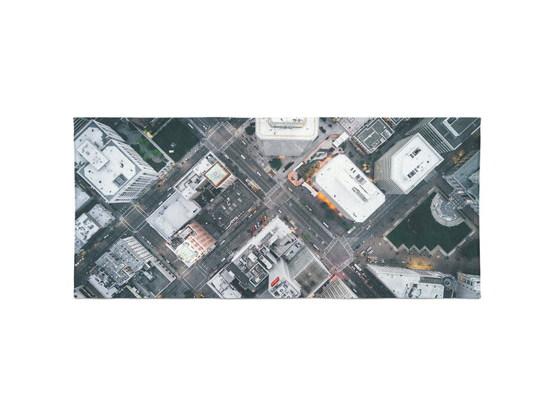Oakland Streets From Above Beach Towel