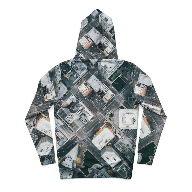 Oakland Streets From Above Hoodie