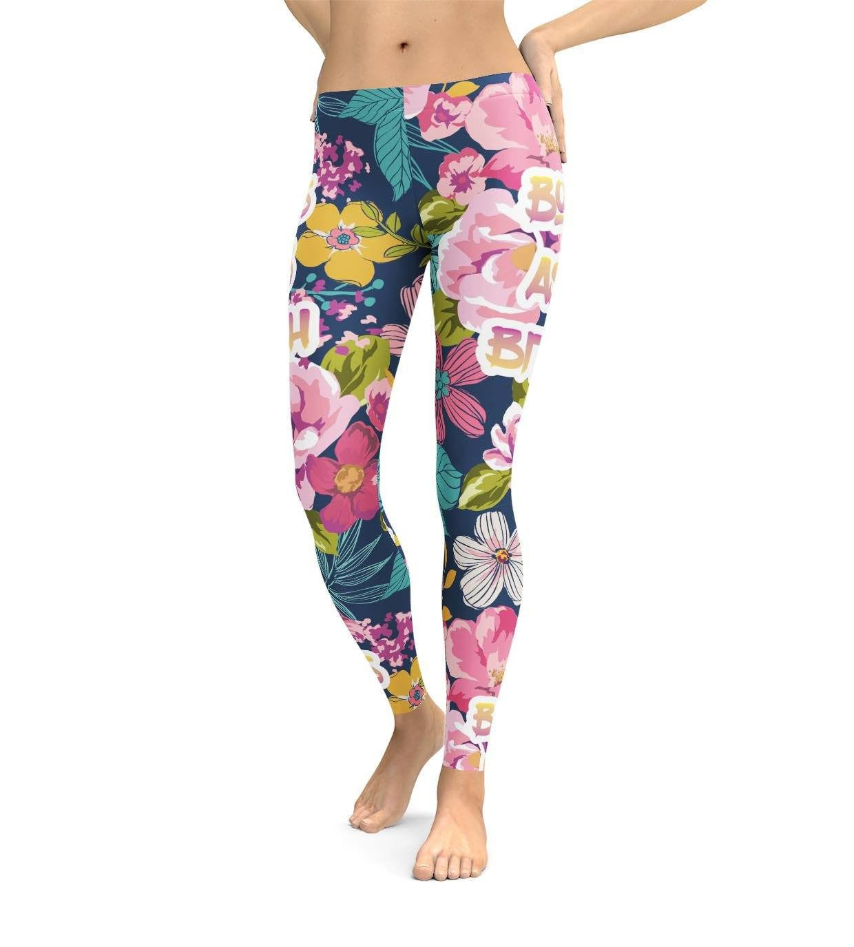 Bossy Flowers Leggings