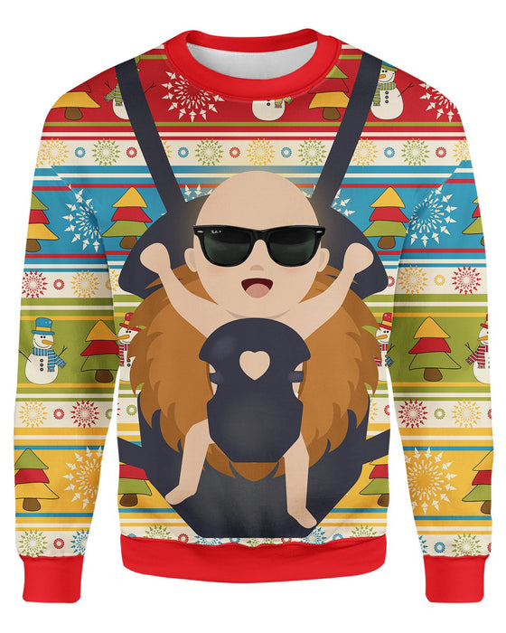 Baby Jesus Christmas Ugly Sweater Sweatshirt All Over Shirts