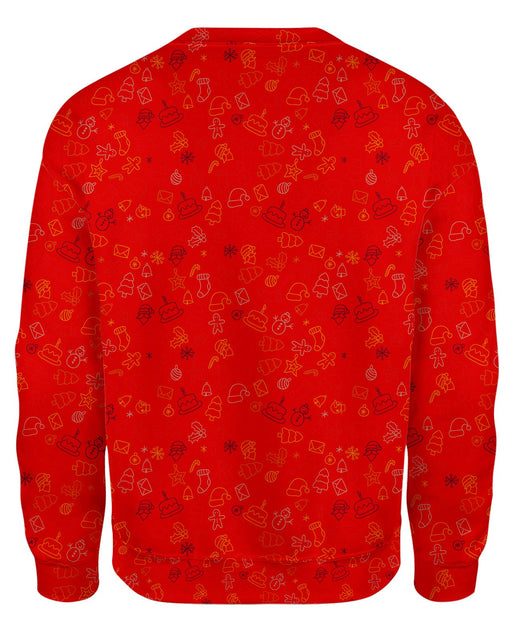 Born In December Red Ugly Sweater