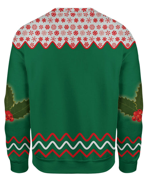 Get Baked Ugly Sweater