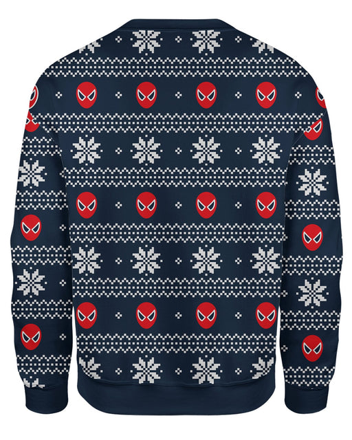 Spiderman Ugly Christmas Sweatshirt