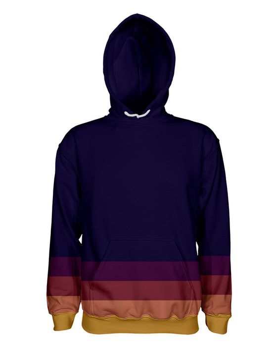 Autumn Stripes Pullover Hoodie