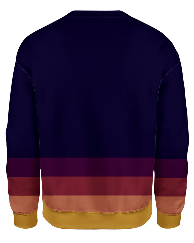 Autumn Stripes Sweatshirt