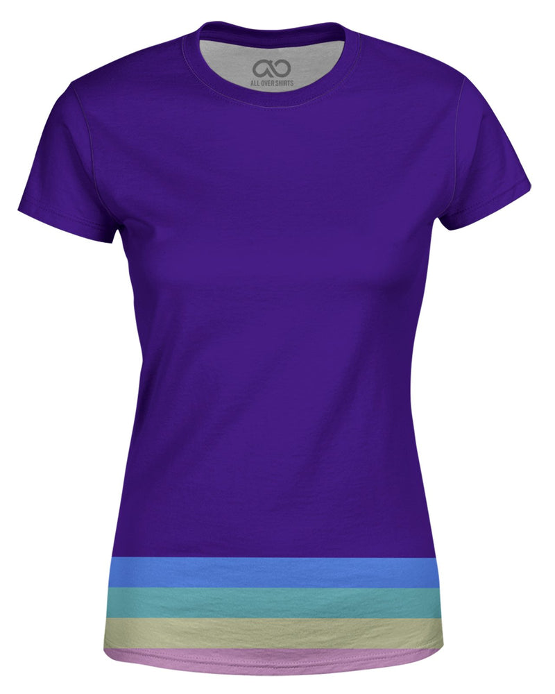 Bottom Rainbow Stripes printed all over in HD on premium fabric. Handmade in California.