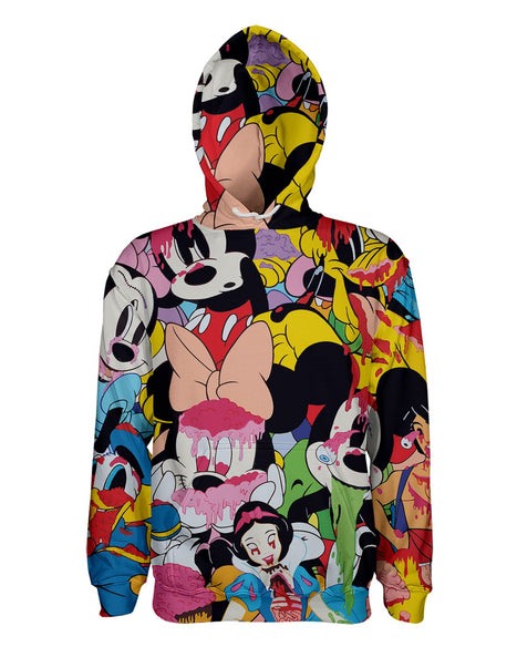 Mickey Slime printed all over in HD on premium fabric. Handmade in California.