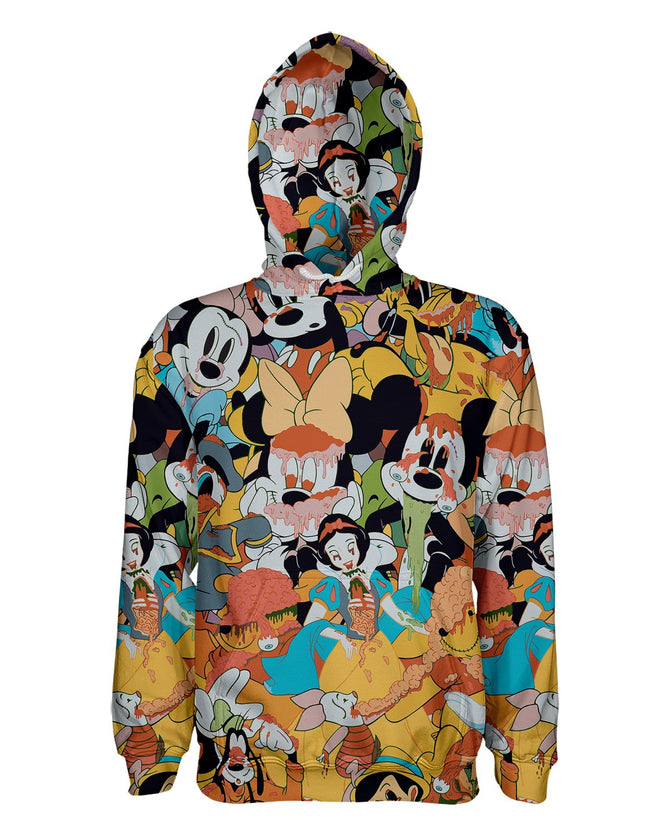Mickey Slime Vintage printed all over in HD on premium fabric. Handmade in California.