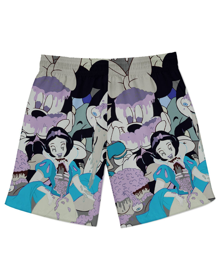 Mickey Slime Blue Athletic Shorts
