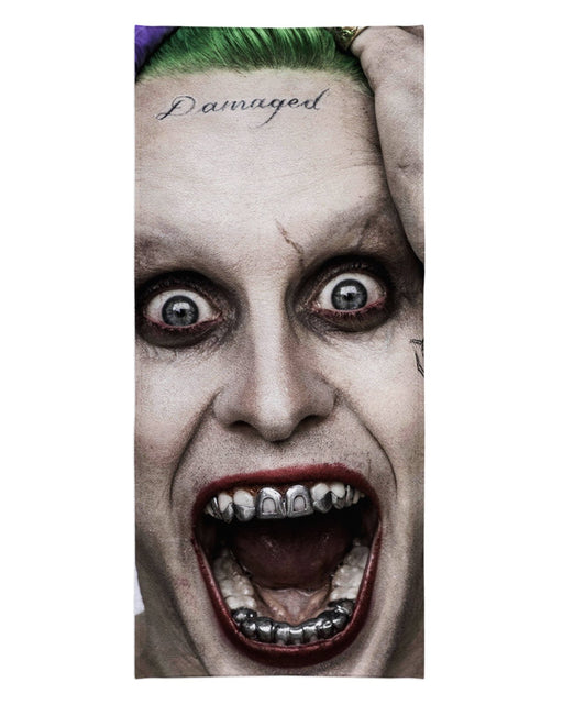 The Joker Suicide Squad Beach Towel