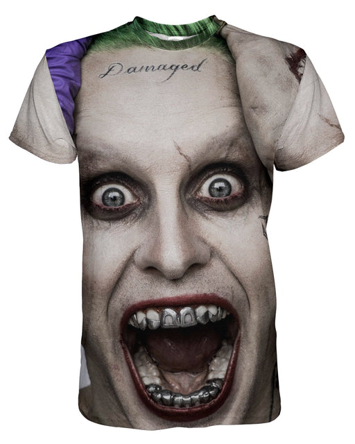 The Joker Suicide Squad printed all over in HD on premium fabric. Handmade in California.