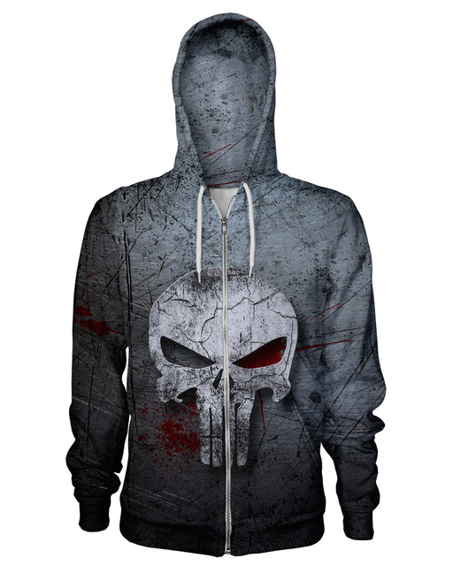 The Punisher Zip Hoodie