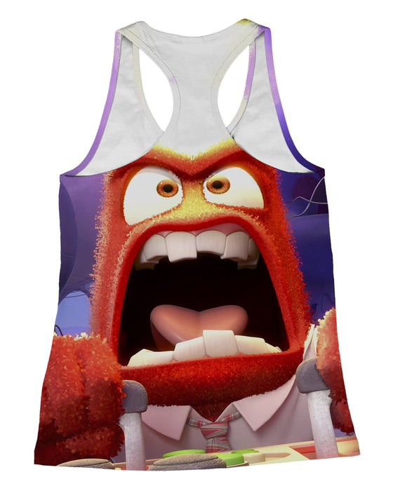 Anger Inside Out Racerback-Tank