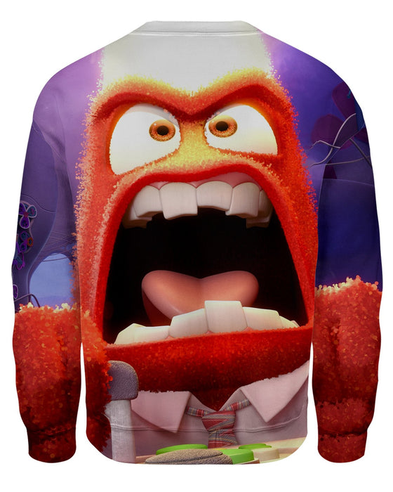 Anger Inside Out Sweatshirt
