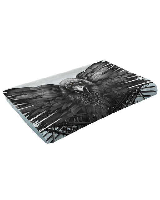 Game of Thrones Raven Fluffy Blanket