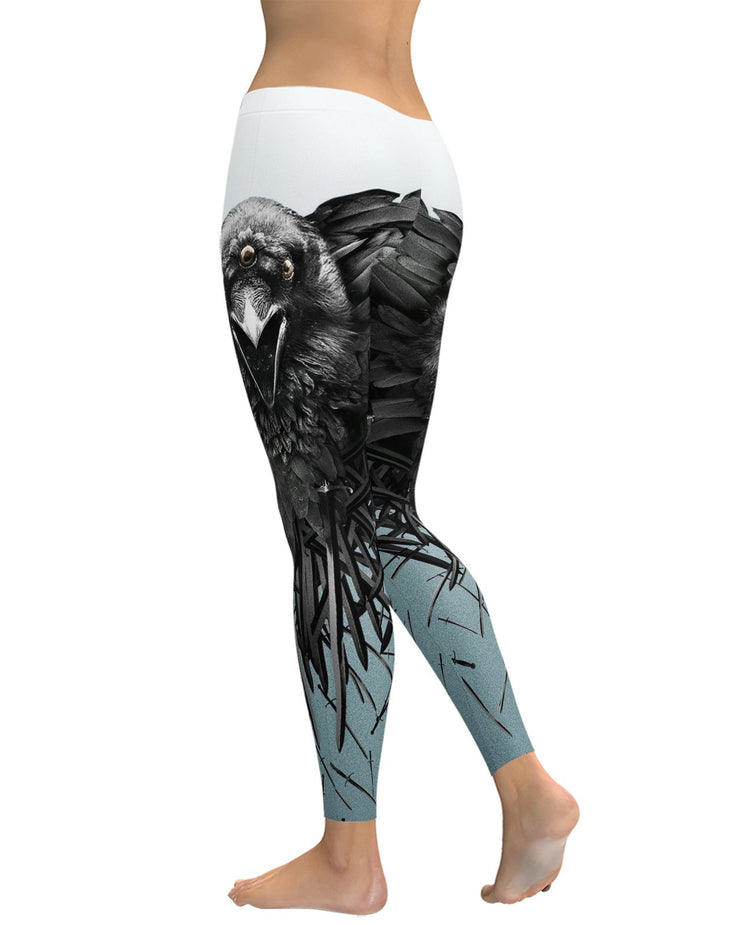 Game of Thrones Raven Leggings